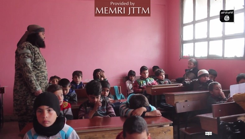 ISIS -Affiliated Jaysh Khalid Bin Al-Walid In Southern Syria Presents Its School In Yarmouk Basin
