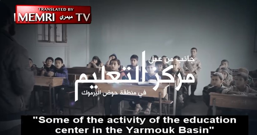 ISIS-Affiliated Jaysh Khalid Bin Al-Walid In Southern Syria Presents Its School In The Yarmouk Basin
