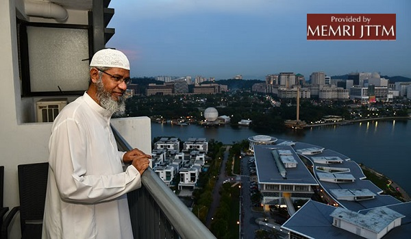 Malaysia-Based Indian Televangelist Zakir Naik: 'I Say From Day One That I Do Not Call... [Osama Bin Laden] A Terrorist'