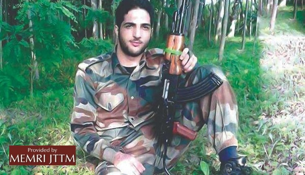 PM Of Pakistan-Controlled Kashmir Pays Tribute To Hizbul Mujahideen (HM) Militant Burhan Wani