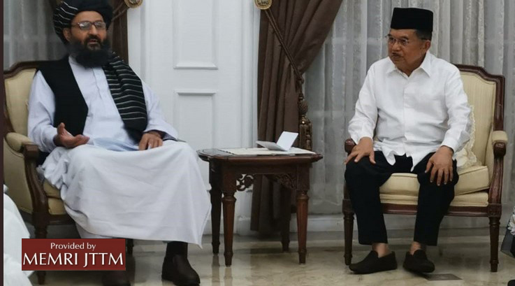 Photos: Afghan Taliban Delegation Led By Mullah Baradar Akhund Meets With Indonesian Leaders