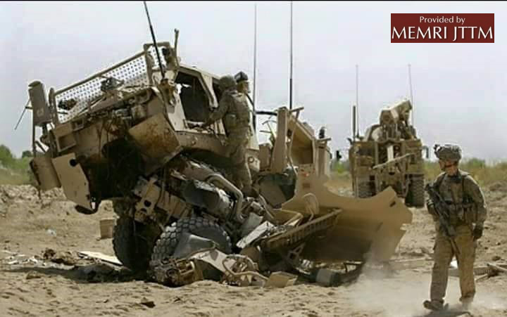 Afghan Taliban Blow Up American Armored Vehicle In Kandahar Province