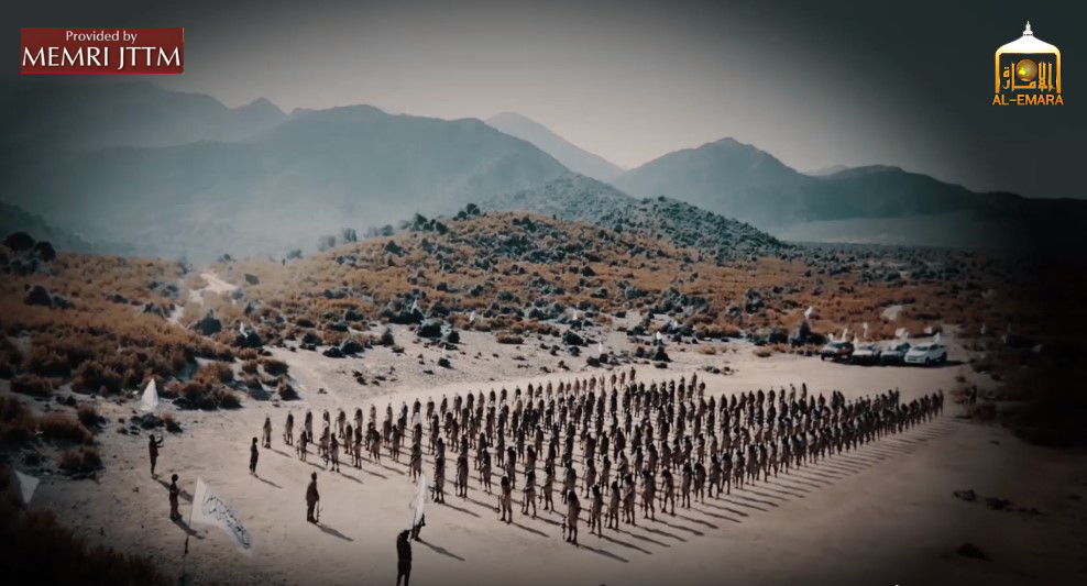 Video Titled 'Caravan Of Khyber' Shows Taliban Militants Training Somewhere In Afghanistan