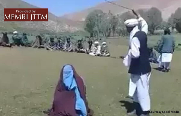Afghan Website: Taliban Militants In Faryab Province Flog Young Couple For Eloping