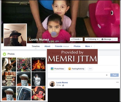 Jihadi Social Media – Account Review (JSM-AR) – Texas Man Moving To New York Says He Is On Watchlist And Has Been Incarcerated, Posts Photos Of Knives And Violent Messages On Facebook: 'I Want To Chop Someone's Head Off'