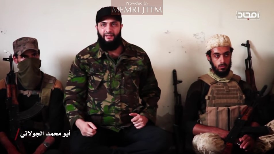 HTS Releases Video Of Its Leader Al-Joulani Addressing His Men