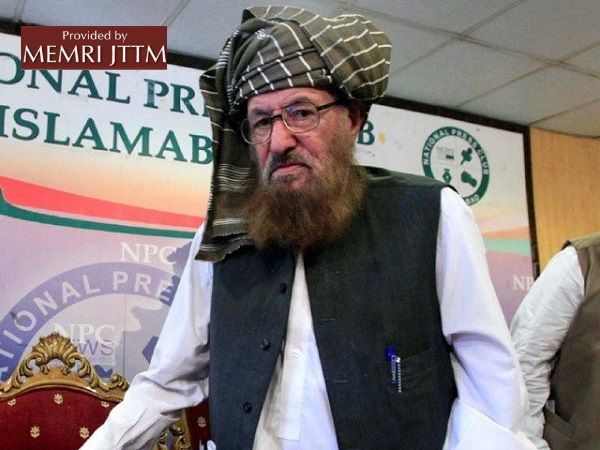 Afghan Taliban: 'The Murderous Attack On Maulana Samiul Haq Sahib Was The Work Of The Enemies Of Islam'