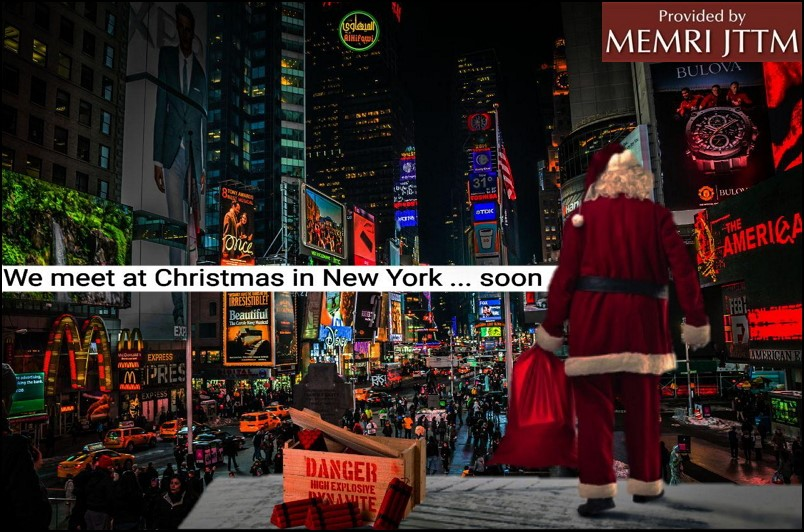 ISIS Supporter Distributes Poster Threatening Christmas Attacks In New York, Paris, Rome and London