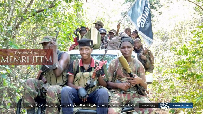 ISIS Publishes Photos Of Victims, Captured Materiel, In Aftermath Of Attack In Mozambique