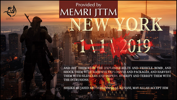 Pro-ISIS Media Outlet Threatens Attacks On New Year's Celebrations In New York City