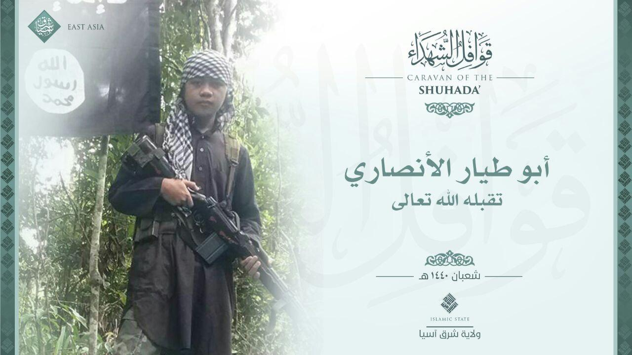 ISIS East Asia Province Commemorates Young Soldier ‎Killed In Battle