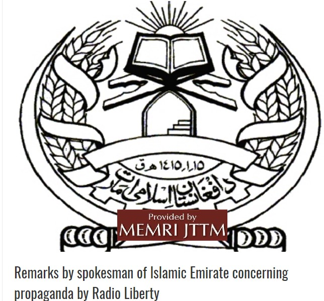 Taliban Condemns News Report By Radio Liberty (Radio Free Europe)