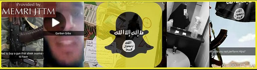 Snapchat App Used By Jihadi Fighters In Syria And Jihadi Supporters In The West