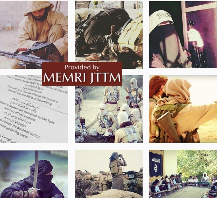 Pro-ISIS Instagram User Writes Jihadi Poems, Threatens Individual Who Reported His Post Leading To Its Removal