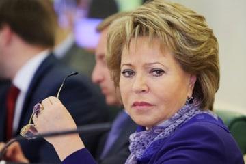 Matviyenko Duma Speaker