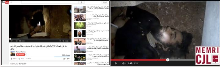 isis jihadi martyr videos youtube middle east media research institute