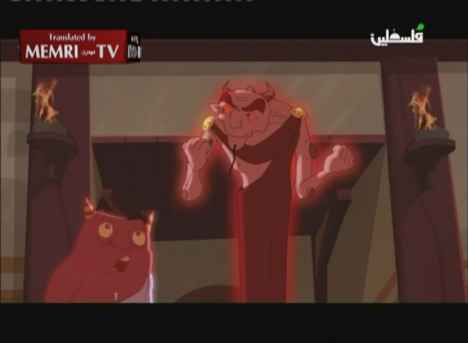 Palestinian Authority TV Airs Antisemitic Cartoon Series Portraying Banishment Of Jews From Al-Madina By Muslims