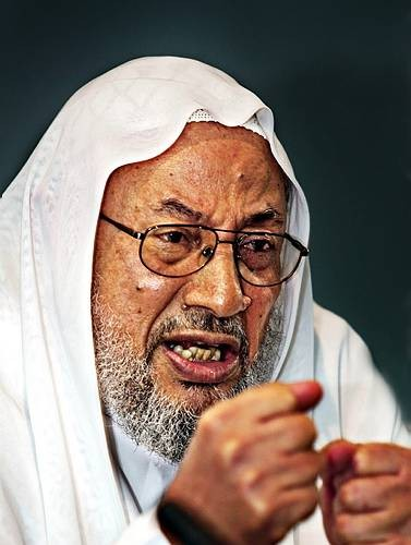 Sheikh Al-Qaradhawi Responds to Cartoons of Prophet Muhammad: Whoever is Angered and Does Not Rage in Anger is a Jackass - We are Not a Nation of Jackasses