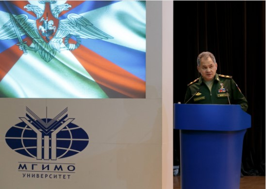Russian Defense Minister Shoigu: 'The Attempts Of The U.S.-Led West To Impede The Establishment Of A New, Fair World Order Are Leading To Growing Chaos... Russia's Strategic Partner Is China'