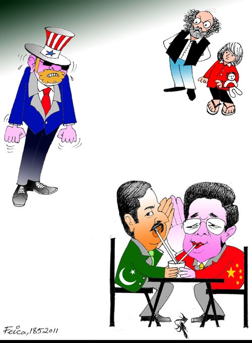 Pakistani Dailies Look at Crisis in Pakistan-U.S. Relations through Cartoons