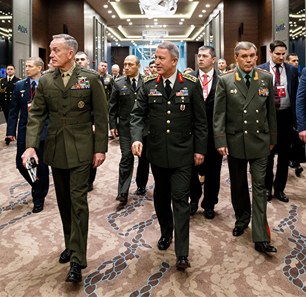 'Iran Diplomacy' Following Tripartite U.S.-Russia-Turkey Military Chiefs of Staff Meeting: 'If You Aren't Sitting At The Table, You Are Being Eaten At The Table'