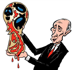 2018 World Cup In Arab Media Cartoons