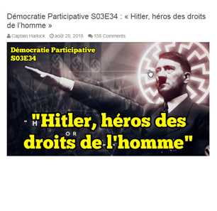 'Démocratie Participative' – A Blatantly Antisemitic, Racist, Anti-LGBTQ French Website – Says It's Owned By U.S. Citizen, Protected By First Amendment