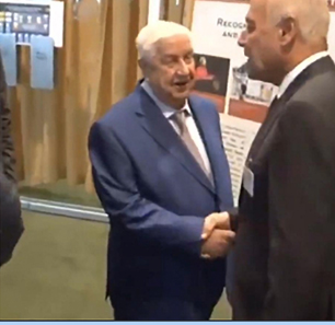 Warm Encounter Between Arab League Secretary-General, Syrian Regime Representatives On Margins Of UNGA Reignites Speculation About Syria's Reinstatement In Arab League