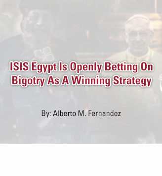ISIS Egypt Is Openly Betting On Bigotry As A Winning Strategy