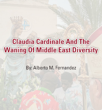 Claudia Cardinale And The Waning Of Middle East Diversity