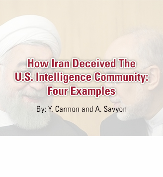 How Iran Deceived The U.S. Intelligence Community: Four Examples