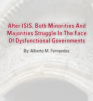 After ISIS, Both Minorities And Majorities Struggle In The Face Of Dysfunctional Governments