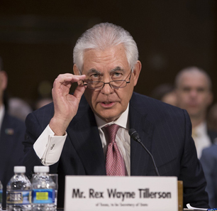 Official Russian Reactions To Rex Tillerson's Confirmation Hearing For The Post Of U.S. Secretary Of State