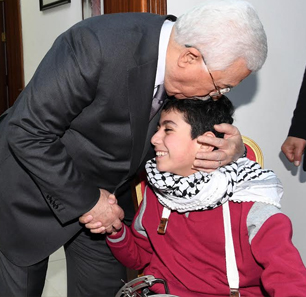Palestinian President 'Abbas Meets With Terrorists And Terrorists' Families
