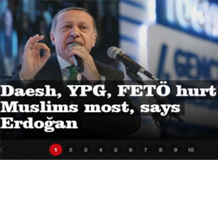 Sensationalist Pro-Erdogan Turkish Daily Calls For Nuclear Weapons, A Stop To Fighting ISIS