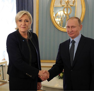 French Elections - Marine Le Pen's Visit To Russia Is 'A Sober And Calculated Move By An Experienced And Talented Politician'
