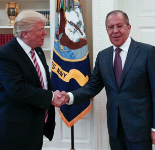Russia's Reactions To Speculations On Trump Sharing Intel With Lavrov