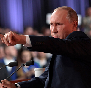 Vladimir Putin's Annual News Conference Part II: U.S. Congressmen Lack Common Sense