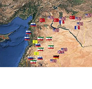 Studies By Arab Researchers Of Distribution Of Foreign Bases Across Syria