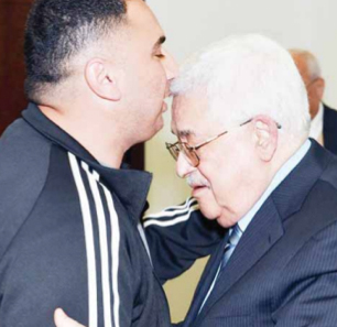 Palestinian Authority President 'Abbas Meets With Released Prisoner Who Was Accomplice In Murder Of Israeli