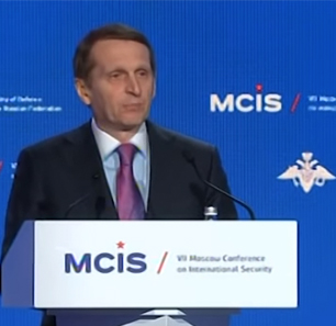 Head Of Russia's Foreign Intelligence Service Naryshkin: NATO And The EU Are Obsolete Organizations