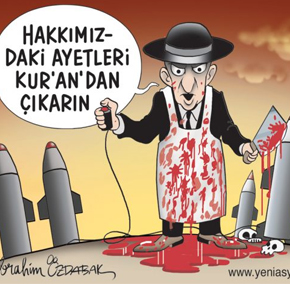 Turkish Newspaper Prints Antisemitic Cartoons Depicting Jews As Vampires, Vultures, And Butchers
