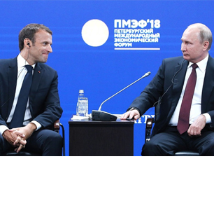 At St. Petersburg International Economic Forum – Part II: Putin: 'Europe Depends On The U.S. In Terms Of Security – But There Is No Need To Worry, We Can Help With Security'; Macron: 'We Really Need To Build A Useful World Order'