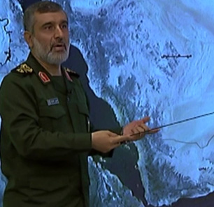General Amir Ali Hajizadeh, Commander Of IRGC Aerospace Force, Reviews U.S. Bases In The Region: We Can Strike The Americans Anywhere, They Are 'Like Pieces Of Meat Before Our Teeth'; 'No Other Country Has So Many Captured [Drones]'