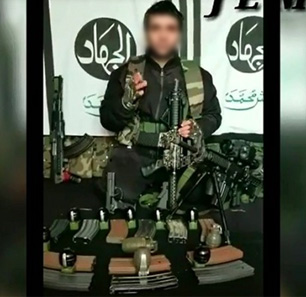 Kashmiri Suicide Bomber Adil Ahmed Dar In Video: 'This Jihad Of Ours Is A Series In Ghazwatul Hind [Battle Of India], Which Cannot Be Broken By Cow-Urine Drinkers'