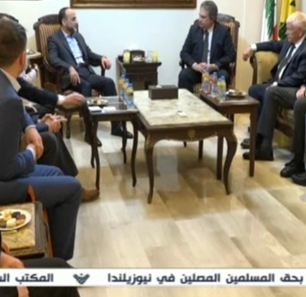 Hizbullah Official In Beirut Receives Visiting Far-Right 'Alliance For Freedom And Peace' Party Members From UK, Italy, Belgium, Germany, And Croatia – Who Express Support For Hizbullah's Fight Against Israel