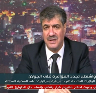 Syrian Analyst Taleb Ibrahim: We Welcome War To Annihilate Zionist Enemy; In Any War, The People Are A Critical Factor And The People Of The Golan Heights Will Join Their Brothers In The Axis Of Resistance, Which Extends From The Border Of Afghanistan