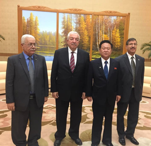 Fatah Delegation Visiting North Korea Conveys Message From Mahmoud 'Abbas To Kim Jong-un Regarding Palestinian Leadership's Objection  To 'Deal Of Century'