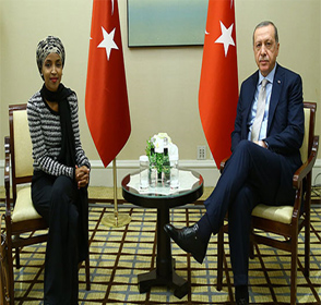 In Call For Campaign Funds For U.S. Rep. Ilhan Omar – Who Has Met With Turkish President Erdogan – Turkish Pro-Government News Outlets Declare: 'Ilhan Omar Laid Out The U.S.'s Lies In The Middle East One By One!'