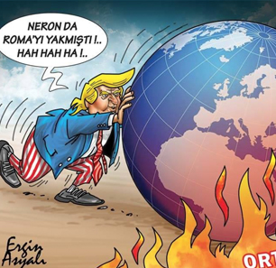 Turkish Criticism Of U.S. Policy And Foreign Relations – In Cartoons